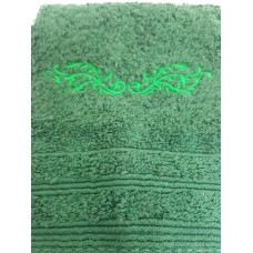 Lace Vine Embroidered Face Cloth