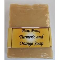 Paw Paw, Turmeric and Orange Soap